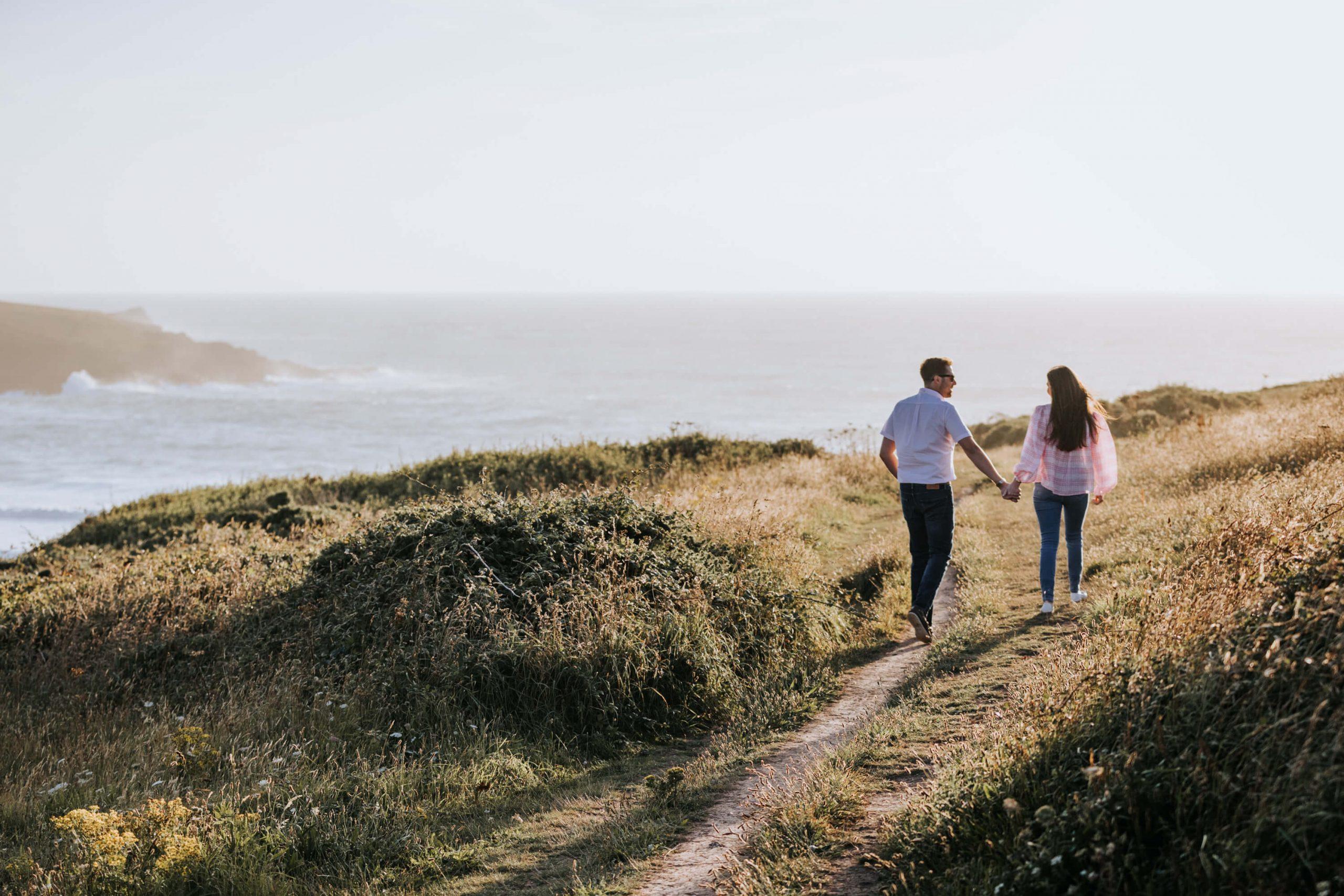 Cornwall Engagament Photography
