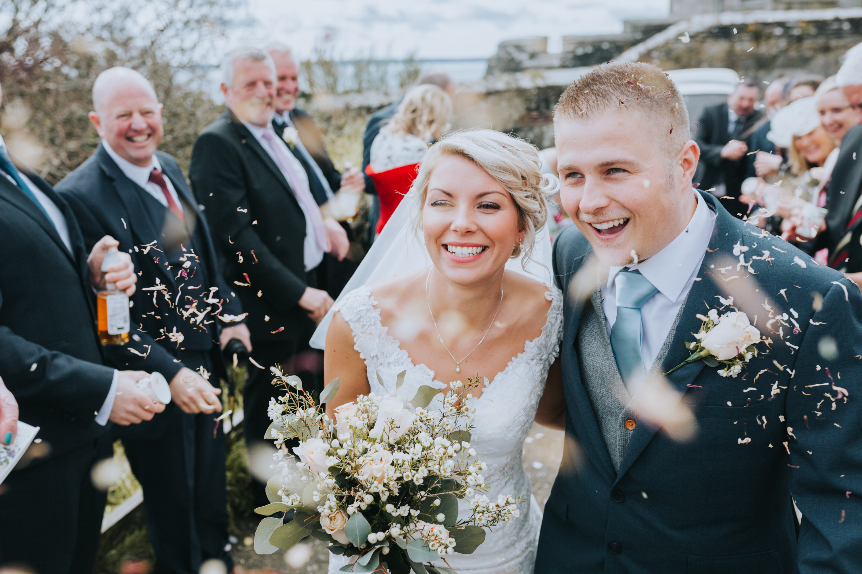 Wedding Photographers Cornwall - St Mawes