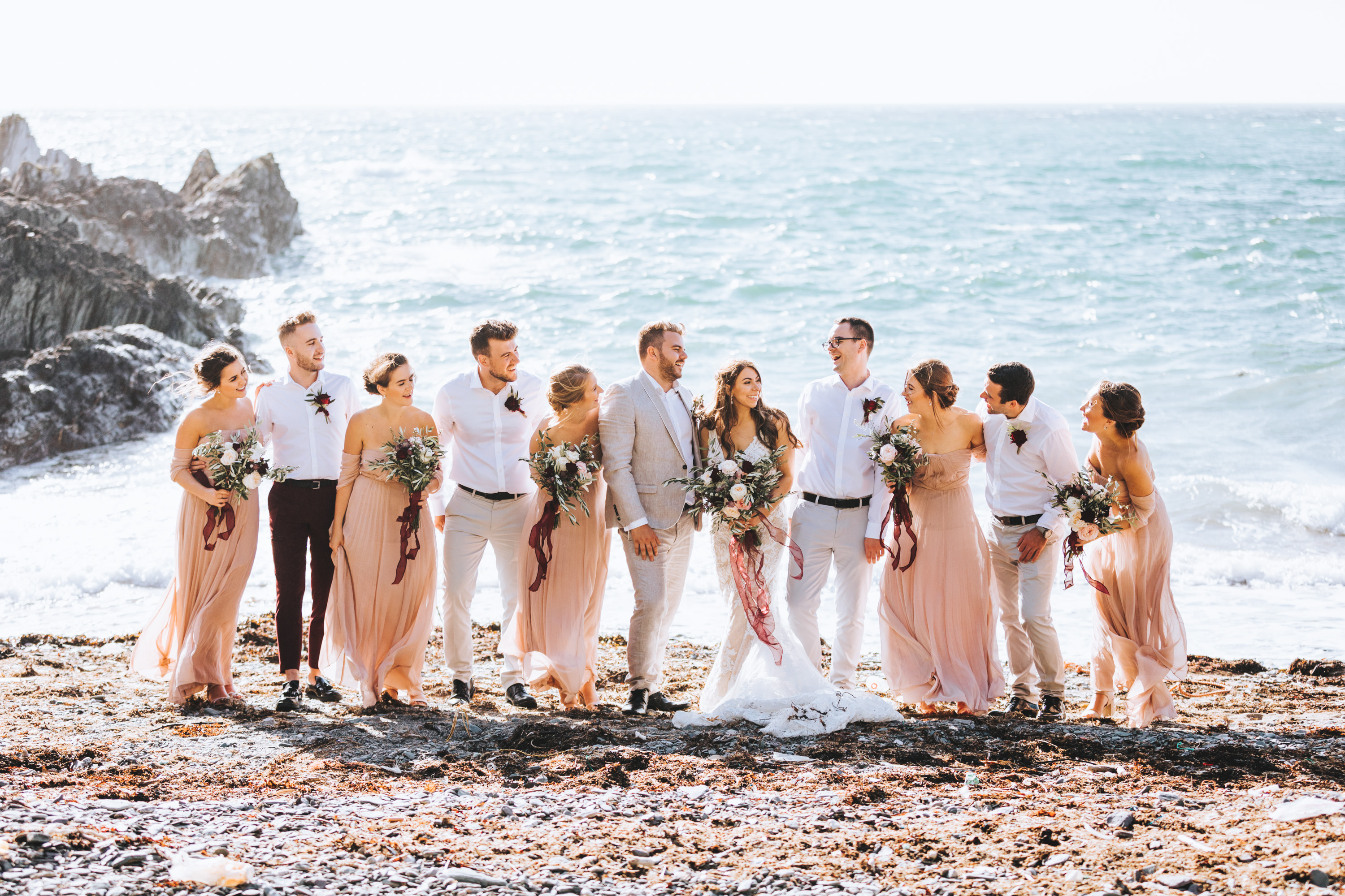 Polhawn Fort Wedding Photographer Cornwall